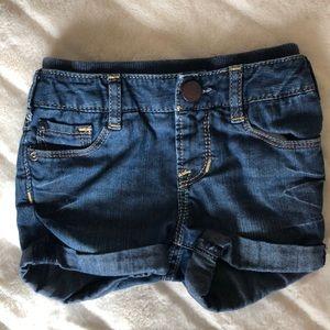 Toddler/ baby girls denim shorts